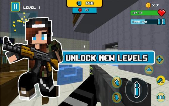 Block Death Squad FPS screenshot 3