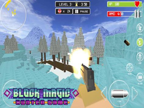Block Magic Hunter Game apk screenshot