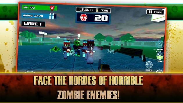 Zombie Outbreak Survival Games apk screenshot
