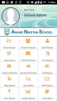 Anand Niketan Admin poster