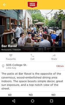 Toronto Patio Guide by blogTO screenshot 1