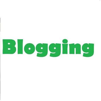 Blogging Million poster