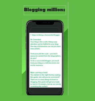 Blogging Million screenshot 2