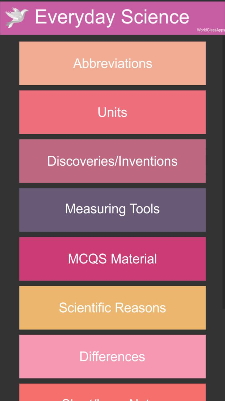 Everyday Science for Android - APK Download