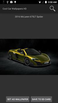 Cool Car Wallpapers HD screenshot 1