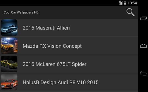 Cool Car Wallpapers HD screenshot 3