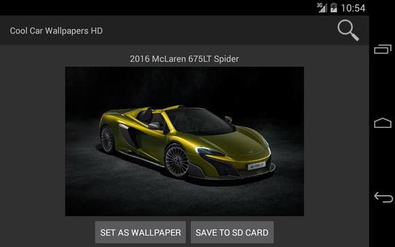 Cool Car Wallpapers HD screenshot 4