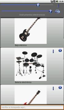 Instruments Sounds screenshot 14