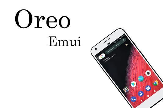 Oreo 2  Emui 5 Theme poster