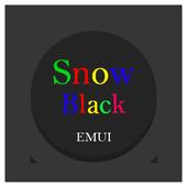 Snow Black Emui 5.0 Theme icon
