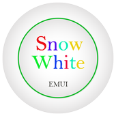 Snow White Emui 5.0 Theme icon