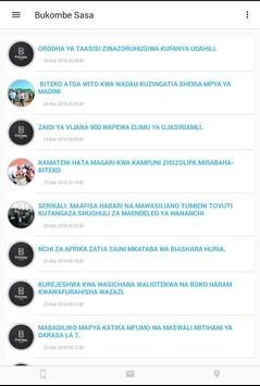 Bukombe Sasa screenshot 6