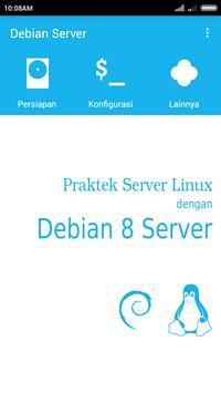 Konfigurasi Debian 8 Server poster