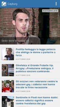 Gayburg: notizie dal mondo gay apk screenshot