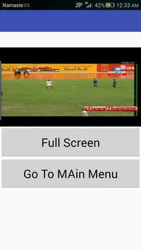 Nepali Football Cricket Live screenshot 1