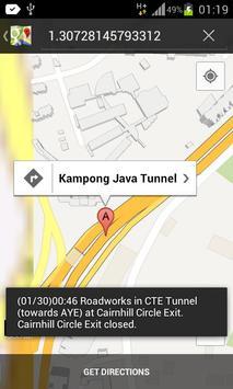 SG Traffic Situation apk screenshot