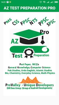 Az Test Preparation Pro poster