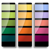 Pantone colors simple catalog icon