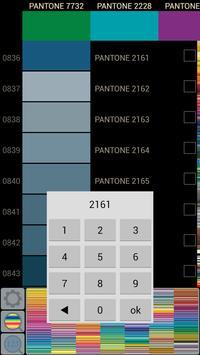 Pantone colors simple catalog apk screenshot