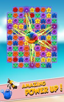 Blossom Blast : Flower Crush Mania Match 3 screenshot 2