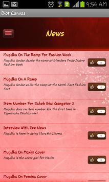Bollywood Celebrity - Mugdha apk screenshot