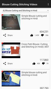 Blouse Cutting Stitching Video apk screenshot