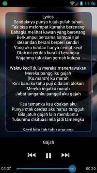 Lagu Tulus Mp3 Lengkap & Lirik screenshot 3