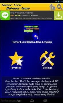 Humor Lucu Bahasa Jawa Lengkap poster