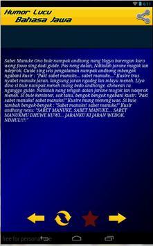 Humor Lucu Bahasa Jawa Lengkap screenshot 1
