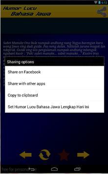 Humor Lucu Bahasa Jawa Lengkap screenshot 3