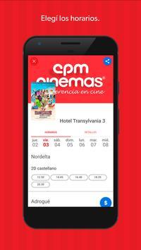 CPM Cinemas apk screenshot