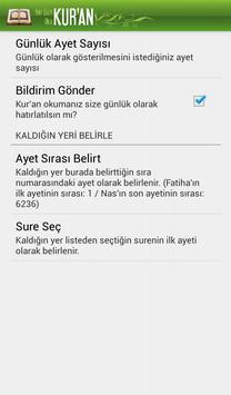 Her Gün Kur'an Oku apk screenshot