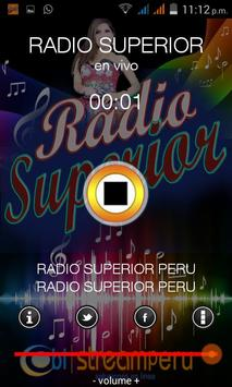 RADIO SUPERIOR PERU apk screenshot