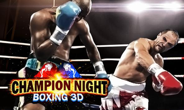 Boxing 3D: Champion Night apk screenshot