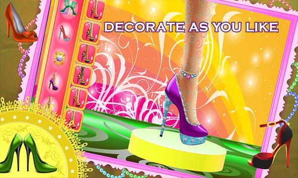 My Shoe Designer Fun Game screenshot 3