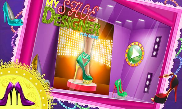 My Shoe Designer Fun Game poster