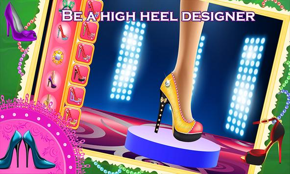 My Shoe Designer Fun Game screenshot 1