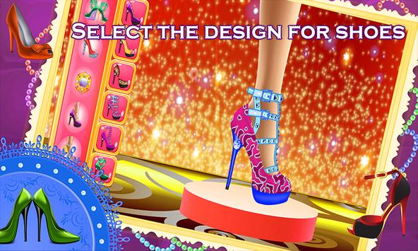 My Shoe Designer Fun Game screenshot 2