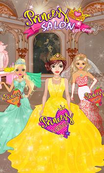 Princess Salon Kids Game screenshot 4