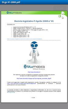 Blumatica Safety Lex apk screenshot
