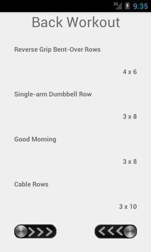 Workout Generator apk screenshot