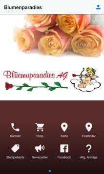Blumenparadies poster