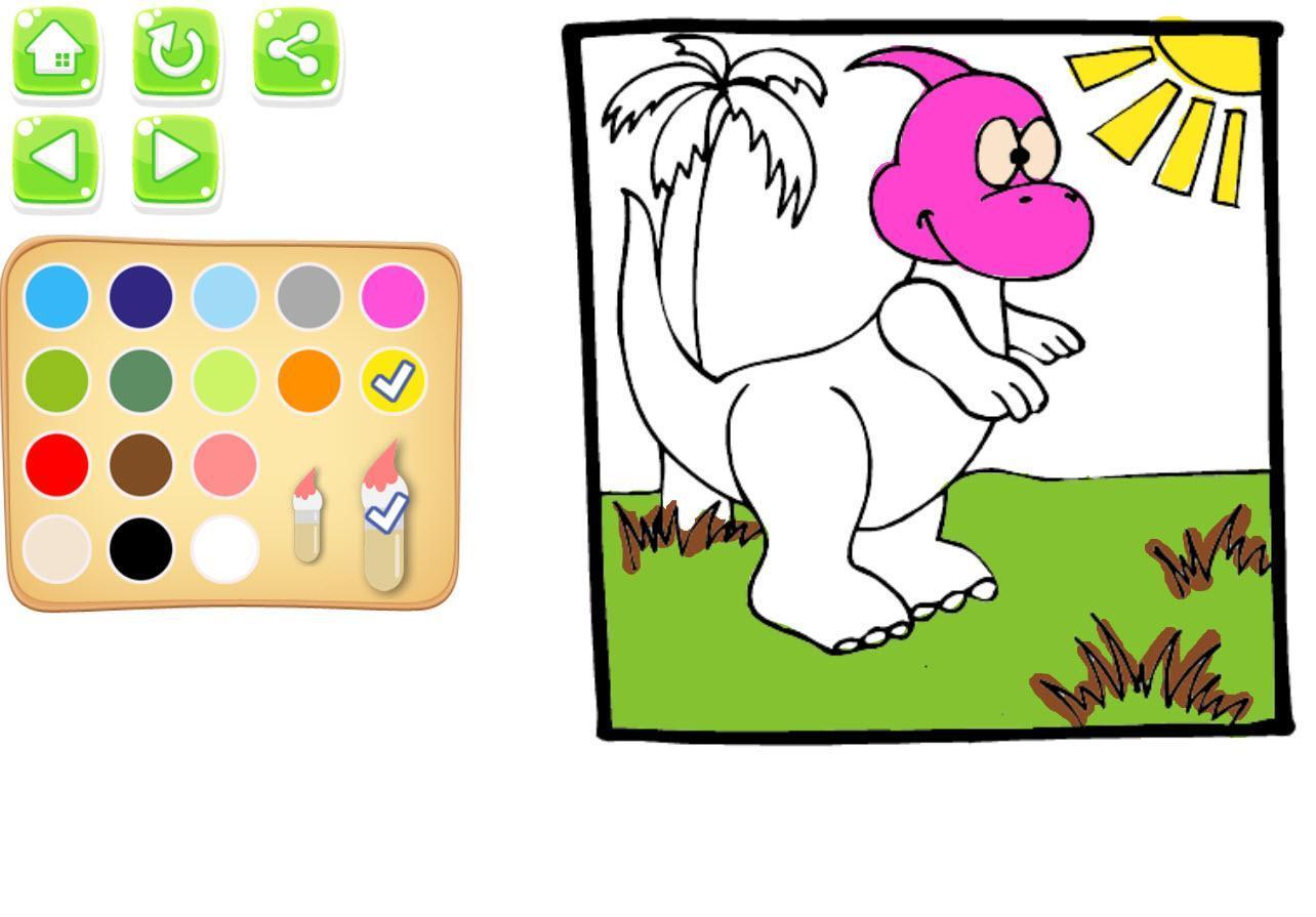 Android Icin Dinozor Boyama Kitabi Apk Yi Indir