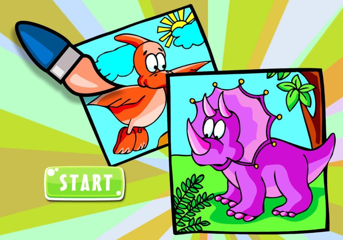 My Dino Coloring Book For Kids Apk Screenshot