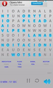 WordSearch Puzzle Free apk screenshot