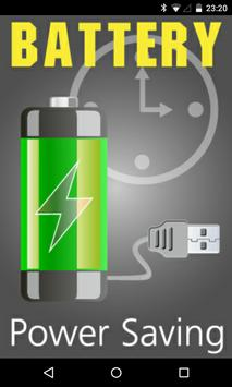 Battery Power Saving poster