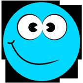 Blue Ball 4 icon