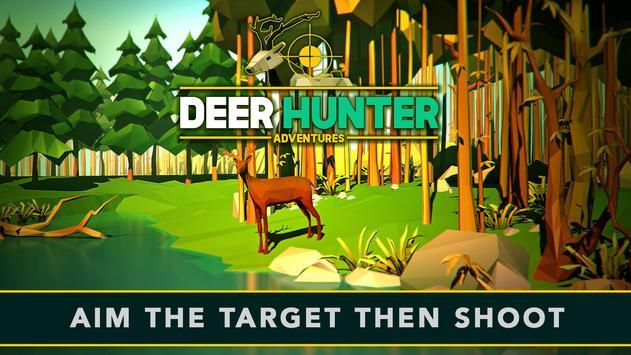 Pixel Wild Deer Hunting World poster