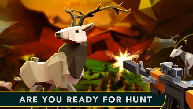 Pixel Wild Deer Hunting World apk screenshot