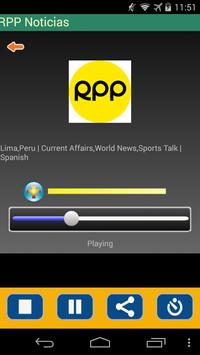 Radio Peru apk screenshot